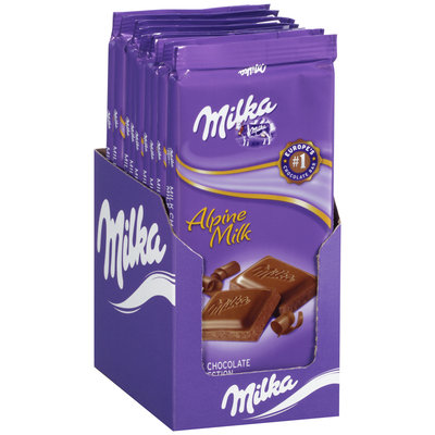 Milka Alpine Milk Chocolate Confection Bar