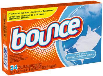 Bounce Fresh Linen Dryer Sheets 34 use