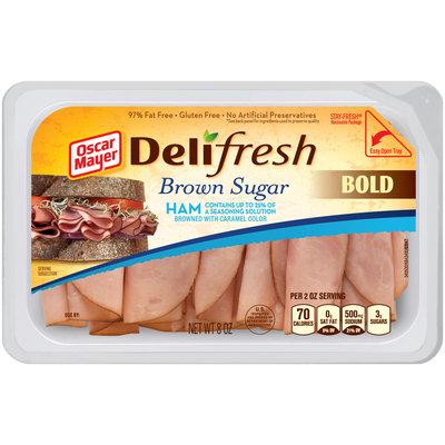 Oscar Mayer Deli Fresh Brown Sugar Ham Lunch Meat 8 oz. Tub