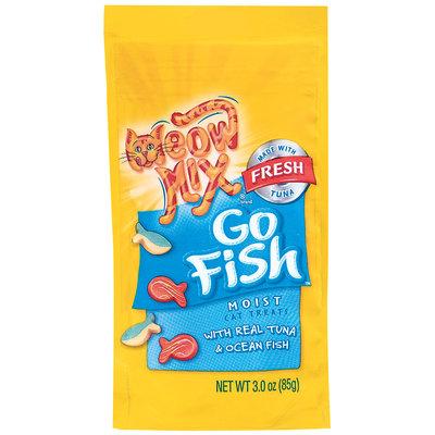 Meow Mix® Go Fish Moist Cat Treats 3 oz. Bag
