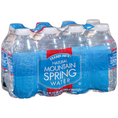 Trader Joe's® Natural Mountain Spring Water