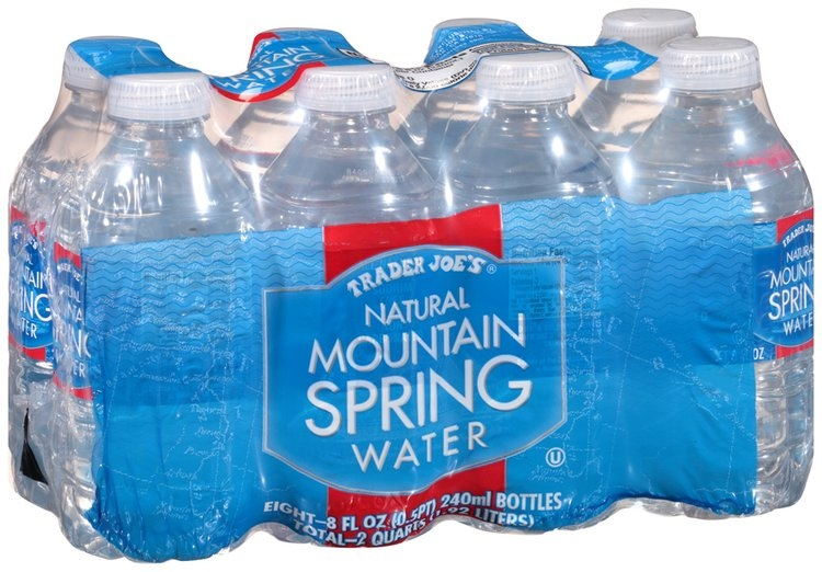trader joes natural mountain spring water reviews find   bottled water influenster