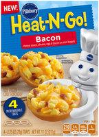 Pillsbury® Heat-N-Go! Bacon Mini Bagels 4-2.75 oz. Trays