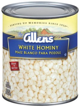 The Allens White Hominy 29 Oz Can