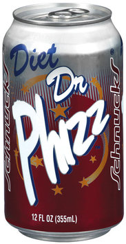Schnucks Diet Dr Phizz Soda 12 Oz Can