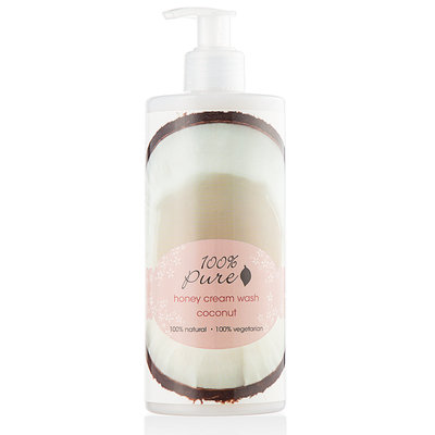 100% Pure Honey Cream Wash Coconut