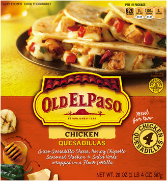 Old El Paso® Chicken Quesadillas 4 ct Box