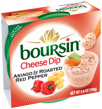 Boursin® Asiago & Roasted Red Pepper Cheese Dip