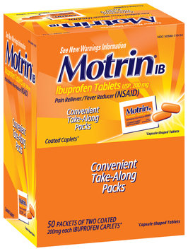 Motrin® Coated Caplets (50 X 2) Ib 100 Ct Box