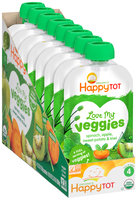 Happy Tot® Love My Veggies Organics Veggie & Fruit Blend 8-4.22 oz. Box