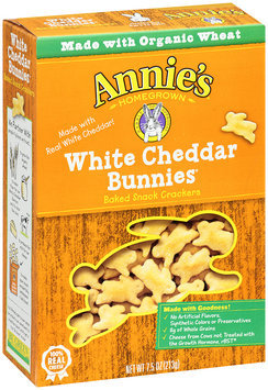 Annie's Homegrown® White Cheddar Bunnies® Baked Snack Crackers 7.5 oz. Box