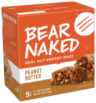 Bear Naked® Peanut Butter Real Nut Energy Bars 5 ct Box