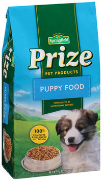 Springfield® Prize Pet Products Puppy Food 4 lb. Bag
