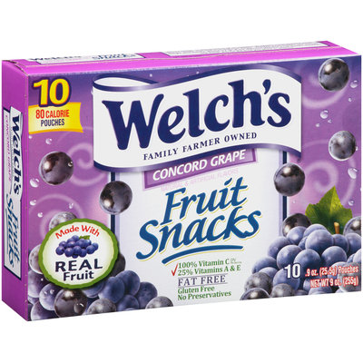 Welch's® Concord Grape Fruit Snacks
