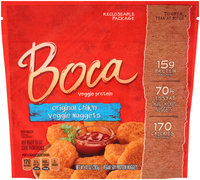 Boca Original Chik'n Veggie Nuggets 10 oz. Pouch