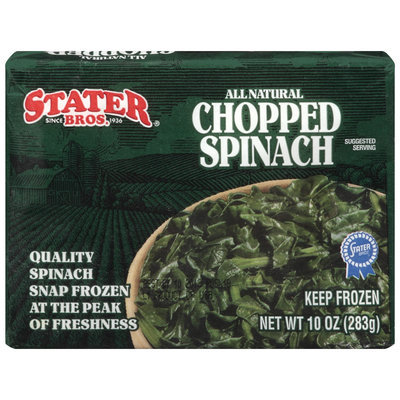 Stater Bros.® Chopped Spinach 10 oz box