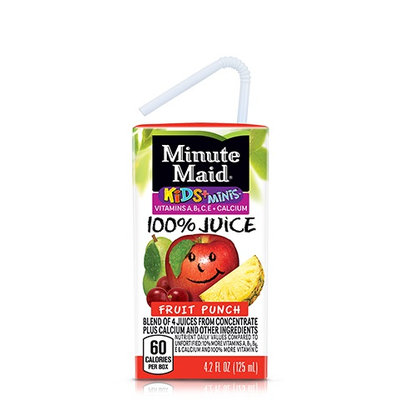 Minute Maid® Kids+® Minis™ Fruit Punch