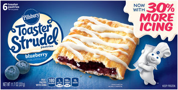 Pillsbury Toaster Strudel™ Blueberry Toaster Pastries 6 ct Box
