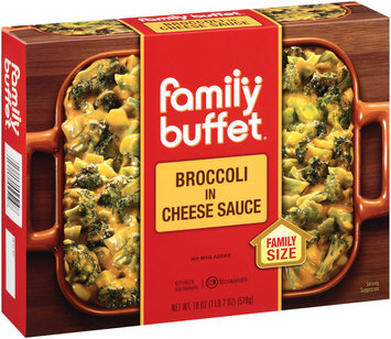 Family Buffet In Cheese Sauce Broccoli 18 Oz Box