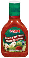 Stater Bros. Roasted Red Pepper Italian Parmesan Dressing 16 Oz Plastic Bottle