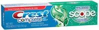 Crest Complete Multi-Benefit Whitening + Scope Minty Fresh Flavor Toothpaste 2.7 oz. Carton