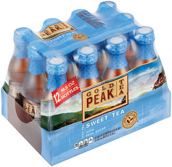 Gold Peak Sweet Tea Iced Tea 12-18.5 fl. oz Plastic Bottles