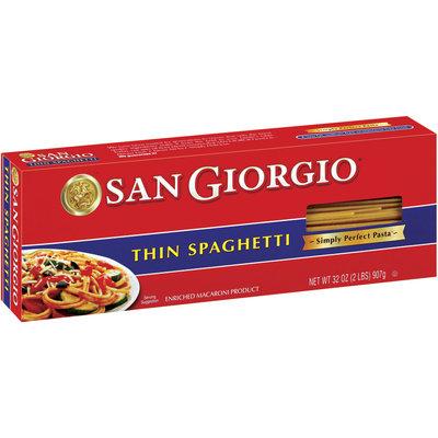San Giorgio  Thin Spaghetti 32 Oz Box