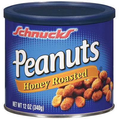 Schnucks Honey Roasted Peanuts 12 Oz Can