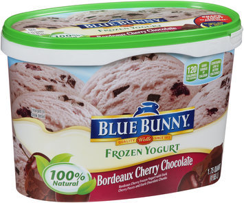 Blue Bunny® Bordeaux Cherry Chocolate Frozen Yogurt 1.75 qt. Tub