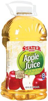 Stater Bros. Apple  100% Juice 128 Fl Oz Jug