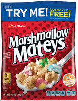 Malt-O-Meal® Marshmallow Mateys® Frosted Whole Grain Oat Cereal with Marshmallows 10 oz. Bag