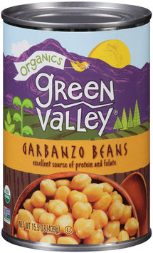 Green Valley® Organics Garbanzo Beans 15.5 oz. Can