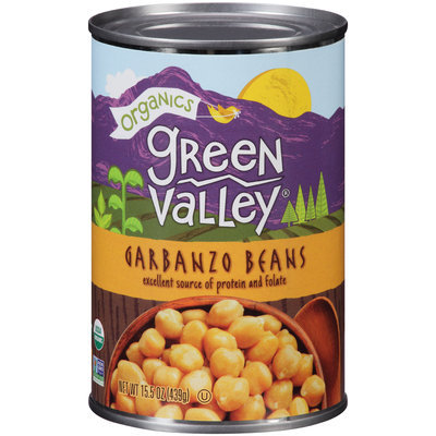Green Valley® Organics Garbanzo Beans 15.5 oz. Can