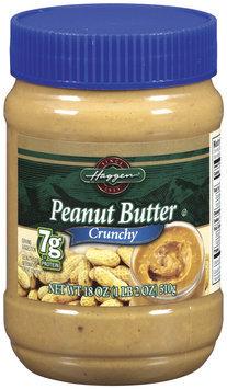 Haggen Crunchy Peanut Butter 18 Oz Plastic Jar