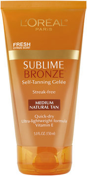 Sublime Bronze Medium Self-Tanning Gelee 5 Fl Oz Tube