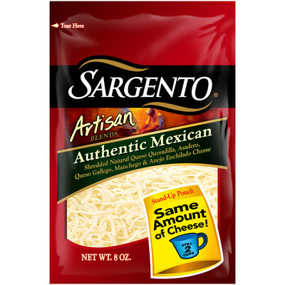 Sargento® Artisan Blends® Authentic Mexican Shredded Cheese
