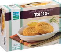 Icelandic Brand® Seafood Crunchy Golden Breaded Fish Cakes 24 oz. Box