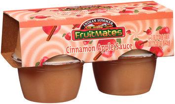 Indian Summer® Fruitmates™ Cinnamon Apple Sauce 4-4 oz. Cups
