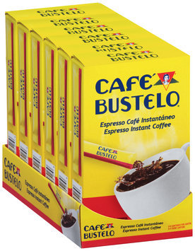 Cafe Bustelo® Espresso Instant Coffee 6-.09 oz. Packets