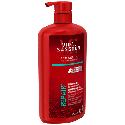 Vidal Sassoon Pro Series Restoring Repair Shampoo 33.8 fl. oz. Bottle