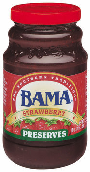 Bama Spreads Strawberry, Modified 6/2/07 Preserves 16 Oz Jar