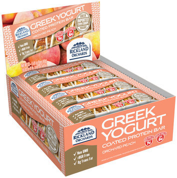 Rickland Orchards™ Greek Yogurt Coated Orchard Peach Protein Bar
