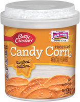 Betty Crocker® Limited Edition Candy Corn Frosting 16 oz. Canister