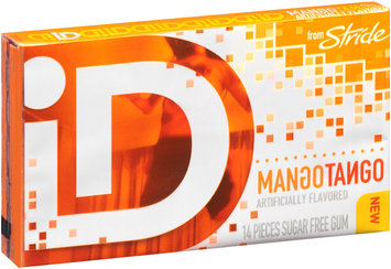 iD from Stride Mango Tango Sugar Free Gum 14 Piece Pack