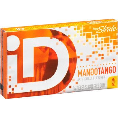 iD from Stride Mango Tango Sugar Free Gum 14 Piece Pack