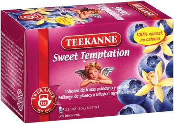 Teekanne Sweet Temptation Blueberry-Vanilla Flavored Fruit Infusion Tea Tea Bags 20 Ct Box