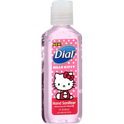Dial® Hello Kitty Moisturizing Hand Sanitizer 2 fl. oz. Bottle