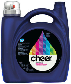 Cheer 2X Ultra HE Fresh Clean Scent Liquid Laundry Detergent 170 fl. oz. Bottle