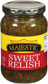 Majestic Sweet Pickle Relish 16 Fl. Oz.