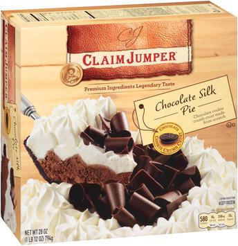 Claim Jumper® Chocolate Silk Pie 28 oz. Box